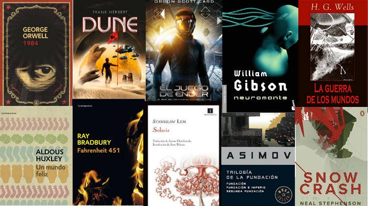 14 mejores libros de Ciencia Ficción