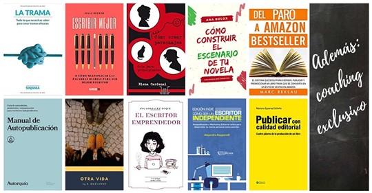 Pack: Diez ebooks sobre escribir y autopublicar más coaching